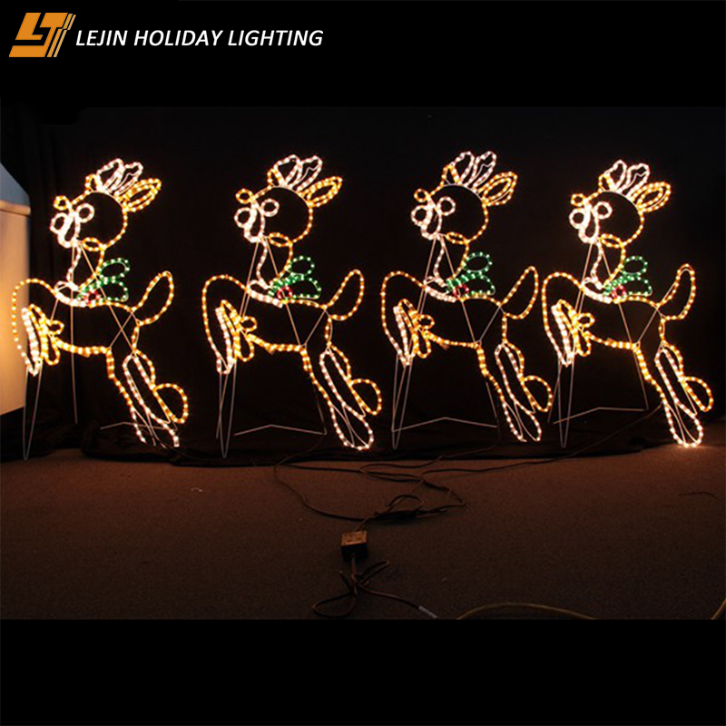High quality Brand new led christmas light sale clearance Outdoor decoration yellow motif lights