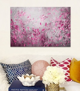 Art Gallery Modern Wall Art Decor Beautiful Flower Abstract Landscape Oil Painting On Canvas