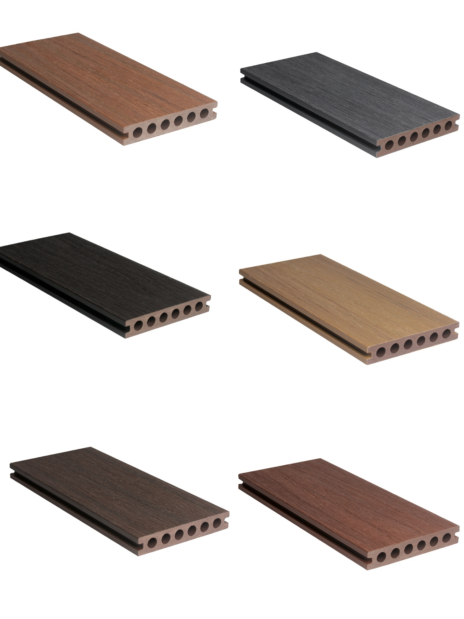 co-extrusion solid wpc decking