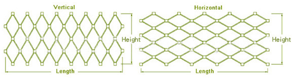 Kształt siatki AISI 316 klasy 7x7 ze stali nierdzewnej Dekoracyjna siatka linowa / tkana siatka druciana_20200521175954.png