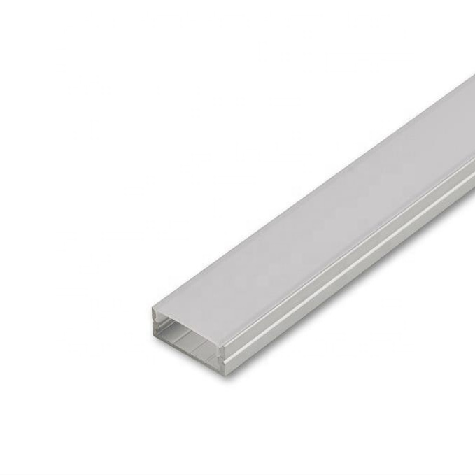 Surface Linear Aluminium Cabinet Corner Lighting Hanging Suspension Aluminum Proile Light Up And Down Pvc Profile Led Strip