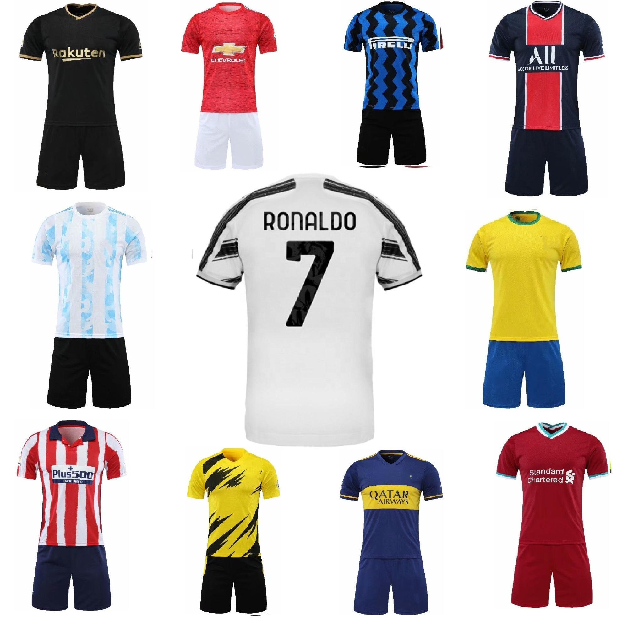 equipaciones futbol baratas personalizadas