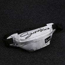 Повседневная мужская поясная сумка, женская наплечная сумка, дорожная холщовая поясная сумка, модная поясная сумка унисекс, Мужская водоне...(Китай)