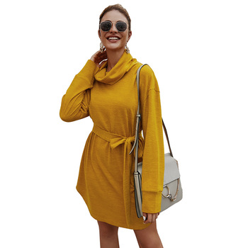 Autumn 	Hot Selling Cheap Elegant Women Clothing Long Sleeve Dresses Women Casual Fancy Dresses Women High Quality Fall Dresses