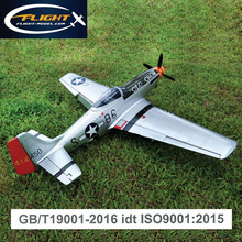 Upgraded P-51 Mustang 20CC RC airplane model