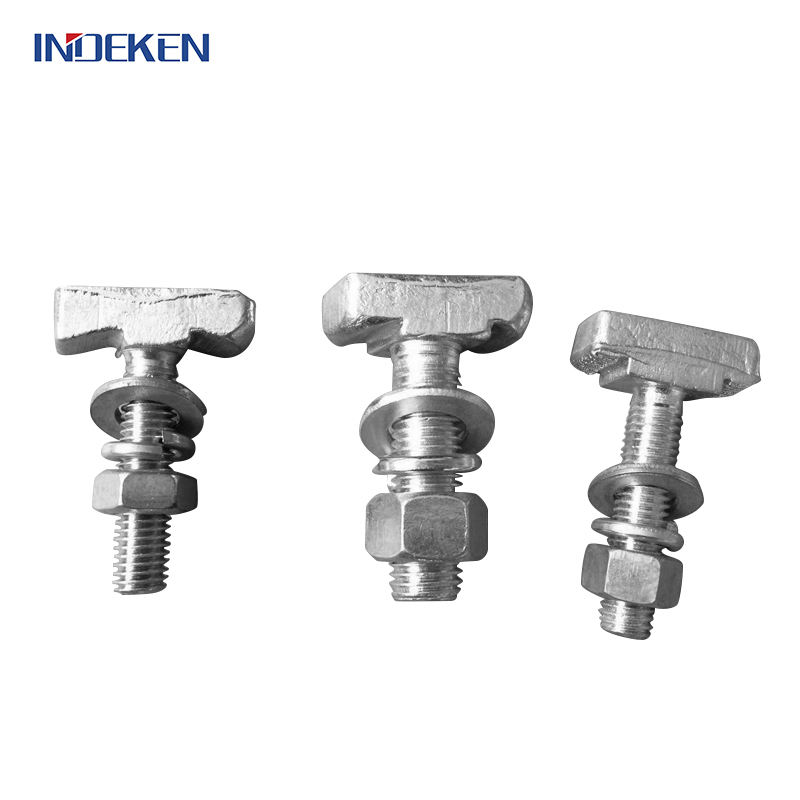 Cast Iron T Bolts For Cement Slat Flooring System