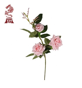 china eco-friendly artificial rose flower for decoration
