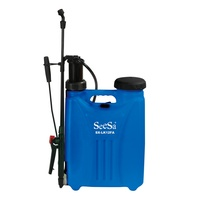 Seesa 12l 16l agriculture garden orchard portable knapsack manual pressure pump chemical sprayer
