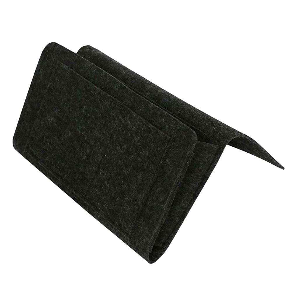 Горячая продажа прикроватная фетровая сумка для хранения с карманами кровать диван стол висит органайзер для телефонов журналы таблетки п...(Китай)