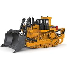 TongLi 7700 kid toys for Boys and Girls bulldozer engineering diecast model Indoor 1/50 metal alloy static huina diecast vehicle