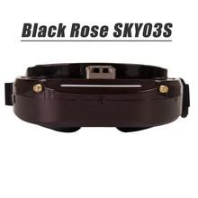 Skyzone SKY03O светодиодный/SKY03S/SKY02C/SKY02X 5,8 ГГц очки FPV с 48-канальным разнообразием для радиоуправляемых дронов Accs OSD DVR HDMI и головных вентиляторов, с...(China)