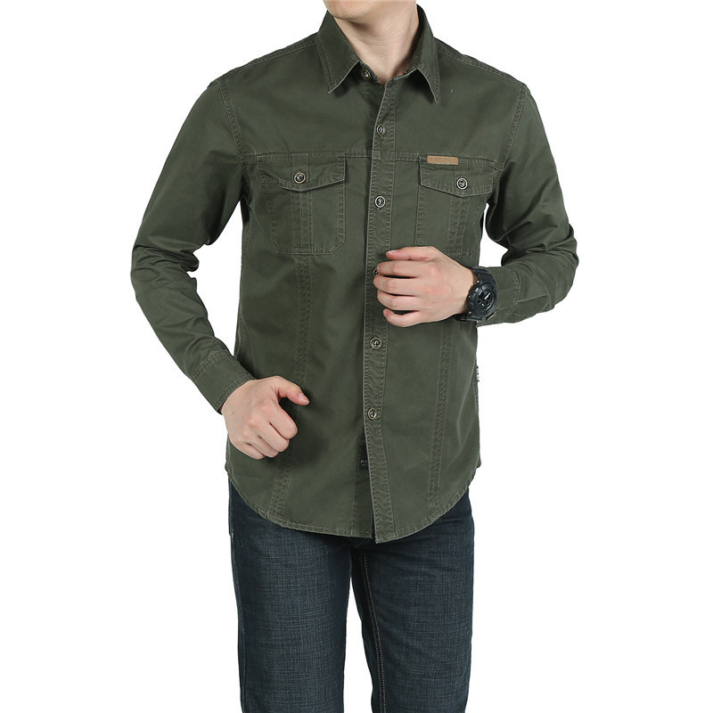 Men's Convertible Sleeve Shirts Lightweight Quick Dry Breathable Hiking Camping Hunting Working Trekking Jackets Coat