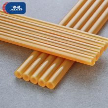 Hot melt kleber sticks Silikon 7mm 11mm <span class=keywords><strong>gelb</strong></span> stick kleber hot melt adhesive aufkleber