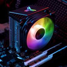 CR1200 RGB Чехол настольный компьютер шасси вентилятор водяного охлаждения Цветной ПК охлаждающий вентилятор для компьютера кулер тихий охлаж...(China)