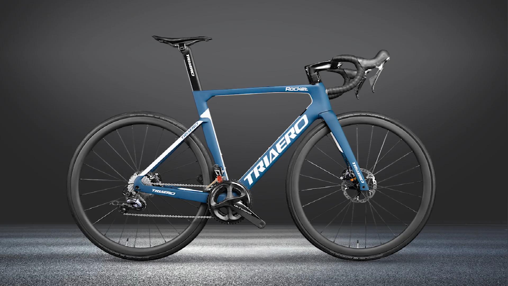 חדש דיסק בלם פחמן אופני כביש עם Etap AXS groupset