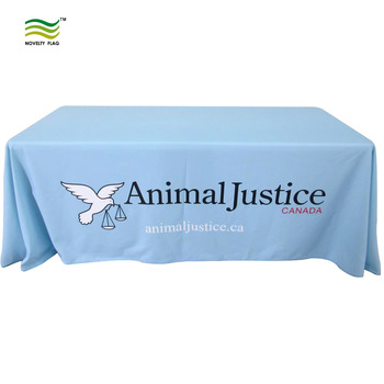 Custom 6ft 8ft Printing Trade show Event Table Cloth