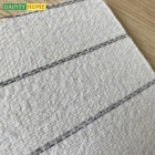 White stripe insole paper board 2.0mm sports shoe materials manufacturers sole board for shoes making