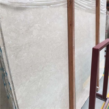 Crema bianco marble beige color stone for slabs and tiles