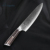 kitchen knife damascus steel 8inch chef knife blade Japanese damascus knife