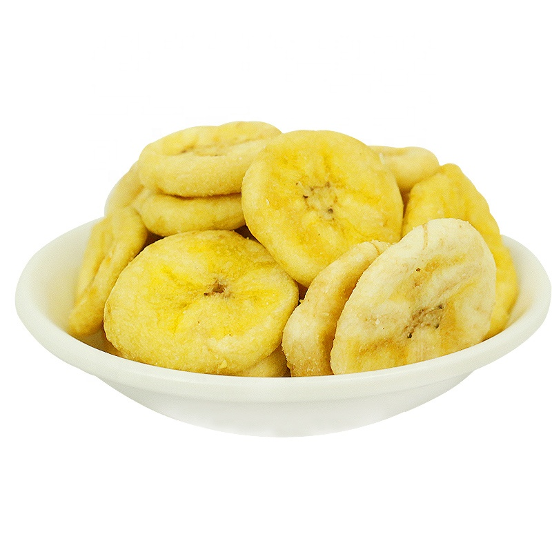 Hot Sale China New Style VF Health Snack Dried Fruit Vacuum Low Temperature Fried Banana Chips