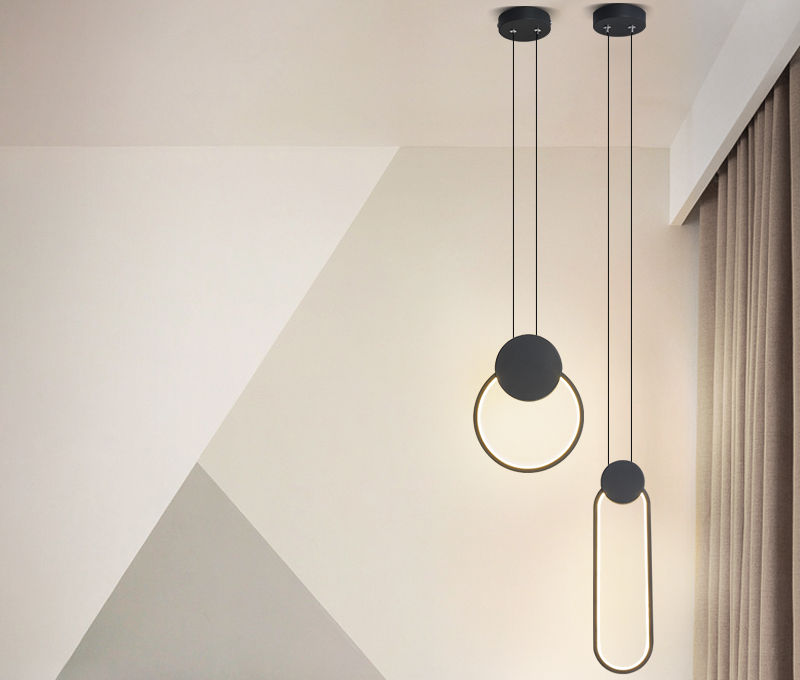 Living room lamp 2020 new led simple modern ceiling lamp atmosphere package creative master bedroom study