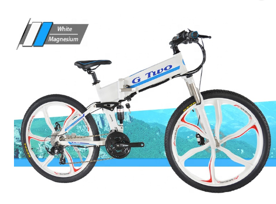 500W High Speed Foldable Electric Bike with GPS HiFi Music Computer MP3/Bluetooth Player