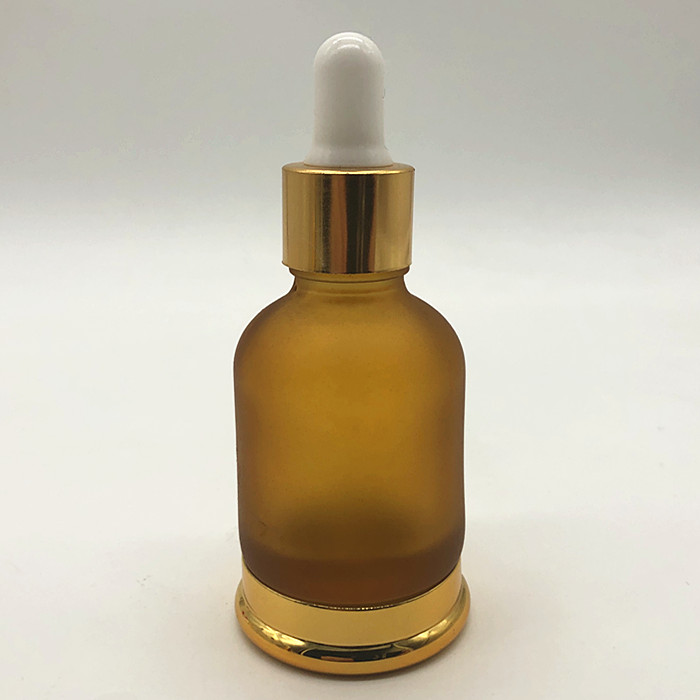 20/410 30ml gold frosted fles dropper