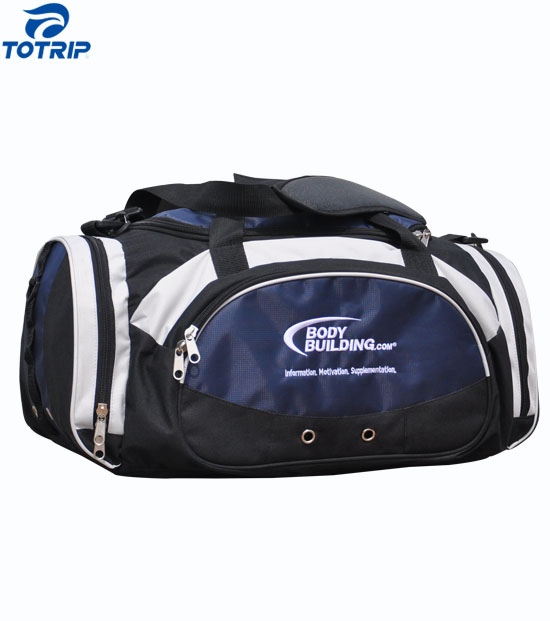 Shoes compartment sport team issue club gear travel bag