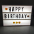 A4 A5 A6 Size LED Combination Night Light Box Lamp DIY BLACK Letters Cards USB Port Powered Cinema Lightbox