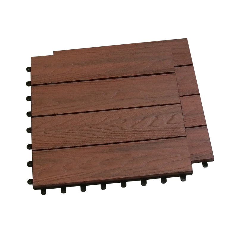 top quality outdoor <strong>decorate</strong> <strong>wpc</strong> diy interlocking composite deck tiles