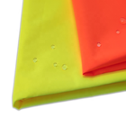 300d pu membrane laminated fluorescent yellow waterproof oxford fabric for safety uniforms by yard