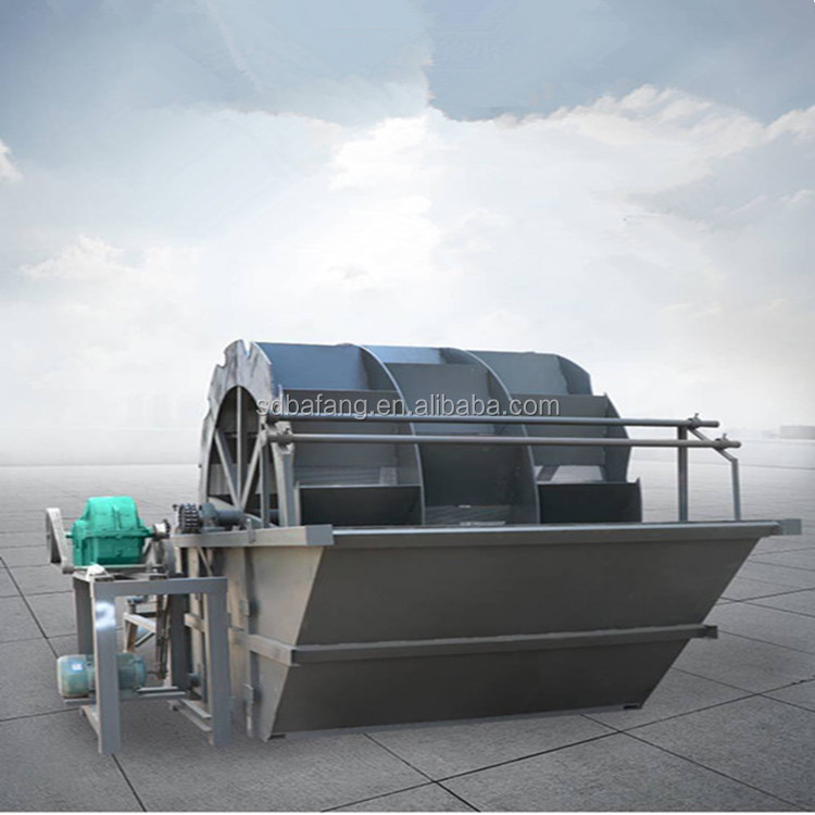 Silica sand cleaning washing plant bucket sand washer