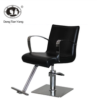DTY portable hair barber styling chair black salon furniture
