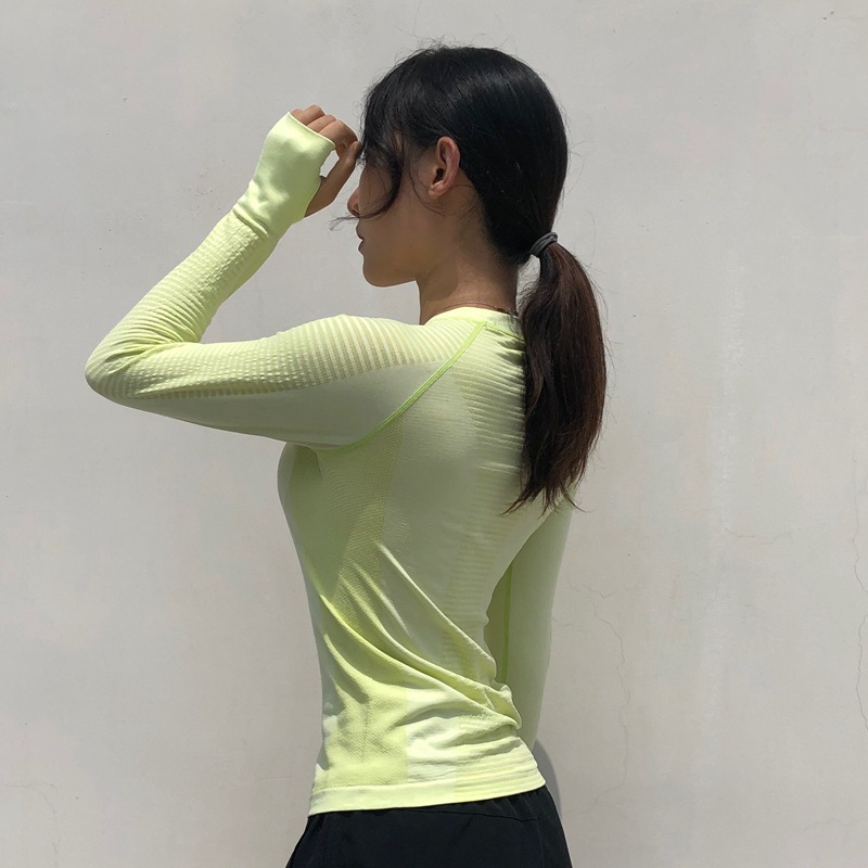 Women-Long-Sleeve-Sports-Shirts-Crew-Neck