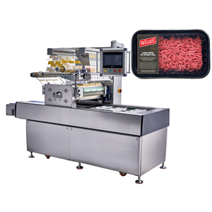 Factory supply multi function auto MAP tray sealer , Modified Atmosphere vacuum packing machine