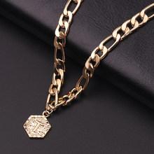 Женский браслет золотого цвета, с английскими цифрами 26, длина 200 см + 10 см, подарочные украшения для девочек(Китай)