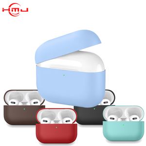 Thin style wireless ear pods cover separated silicone protective case for airpods pro airpods 3 generation