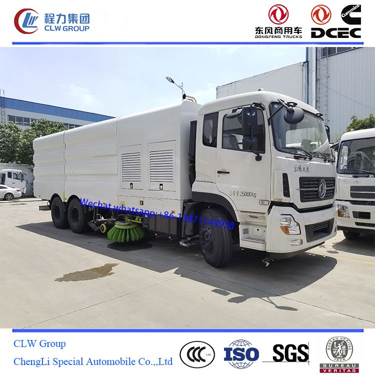 16 ton branded road sweeper truck prices