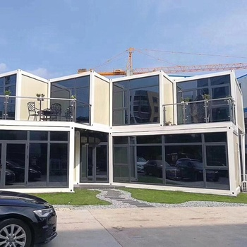 Modern luxury modular container house homes office flat pack prefabricated container house insulated portable cabins