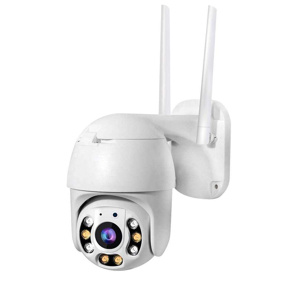 Wifi カメラ屋外 1080 1080p H.265X 1920 × 1080 解像度 ptz ズームカメラベビーシャワーミニ ptz ip カメラ
