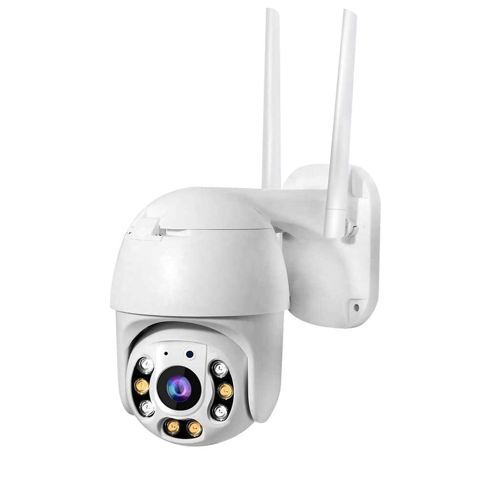 Wifi Kamera Outdoor 1080P H.265X 1920X1080 Resolusi PTZ Zoom Kamera Baby Shower Mini PTZ IP Camera
