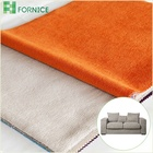China wholesale 100% polyester warp knitted micro velvet burnout upholstery fabric for sofa