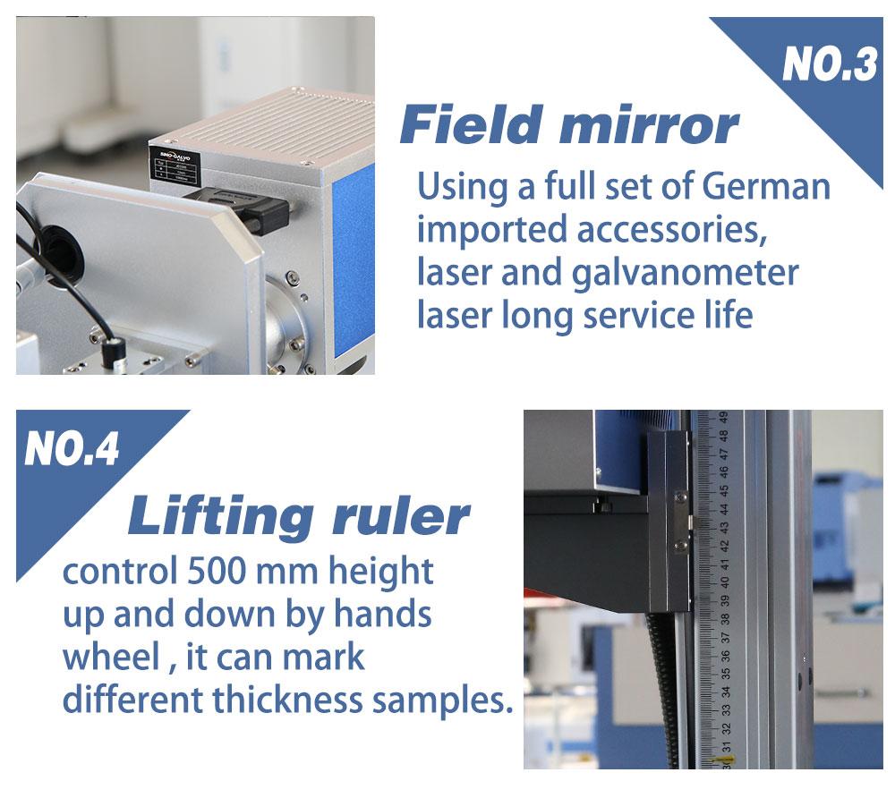 CO2 fiber laser marking machine