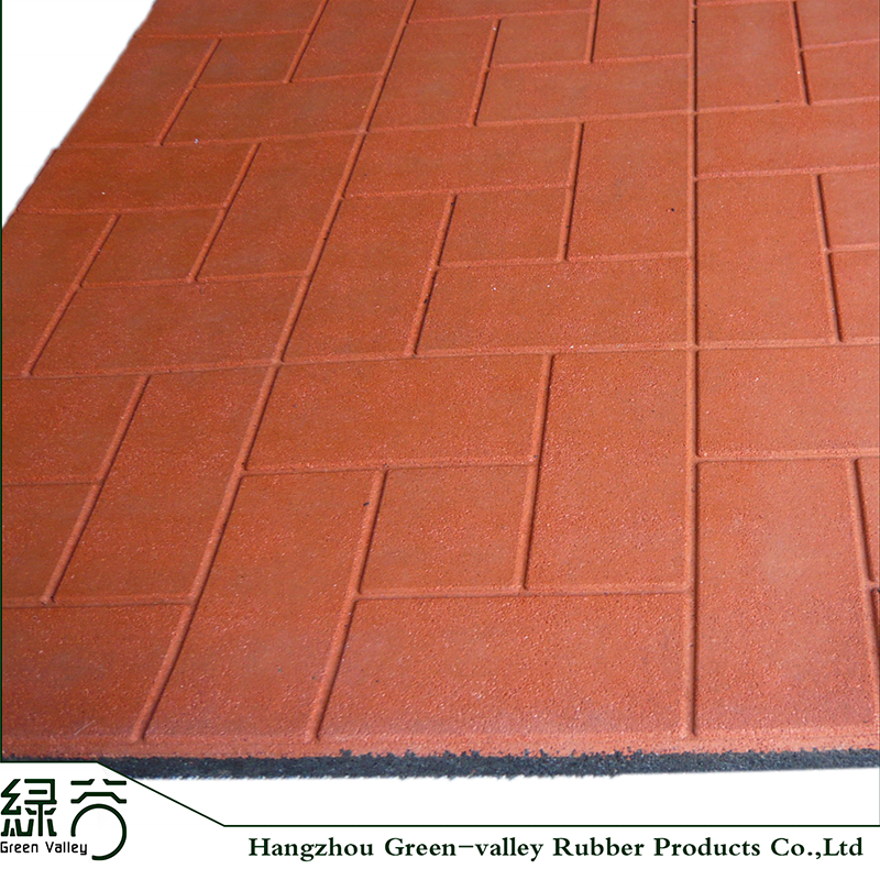 Whole Colored Rubber Flooring Mat