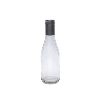 Wholesale Custom clear olive oil sauce bottles wine bottle 200ml glass bottle for wine