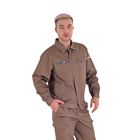 Factory Working Overall Uniform Industrial Workwear Men Work Clothes