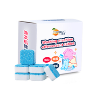 Wholesale effervescent cleaning tablets solid anti-bacterial washing machine cleaner tablet