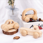 Factory Hot Sales Wooden Inductive Car Toys Educational Toddler Toy Inductive Car Toys