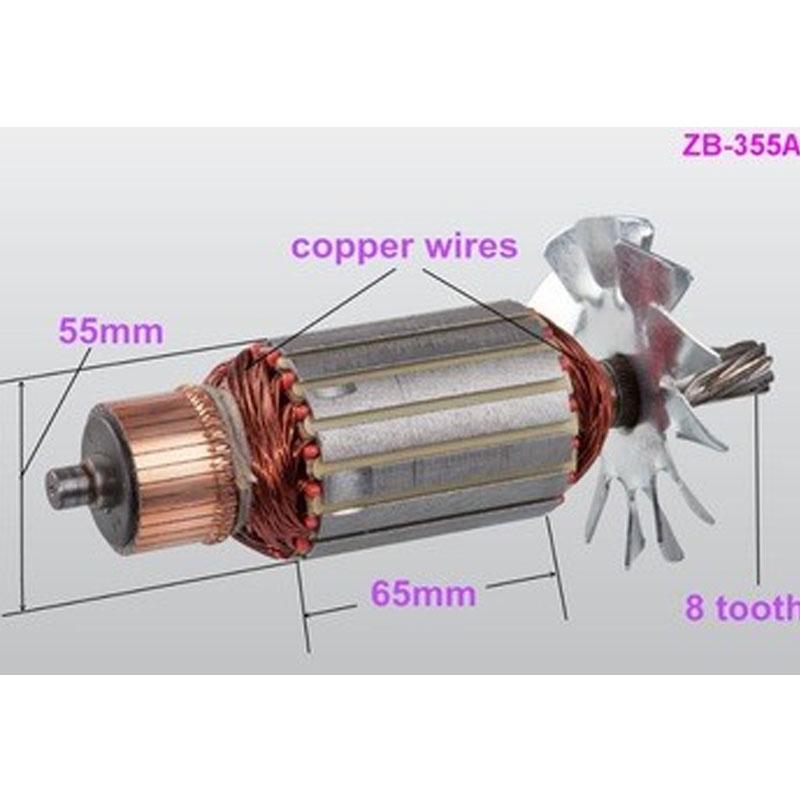 Economic metal abrasive cut off saw machine (ZB-355A)