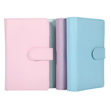 A6 Pu Leather Cover 6 <span class=keywords><strong>Ringband</strong></span> Notebook Reisdagboek Hervulbare Journal Met Magnetische Gesp